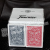 XF Spainish Fournier 2818 100% pure PVC material playing card/ the casino dedicated/ senior clubs dedicated brand