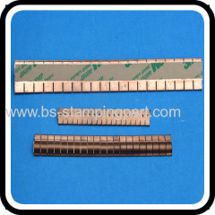 clip mount beryllium copper EMI shielding box