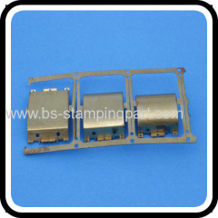 sheet metal nickel plated stamping