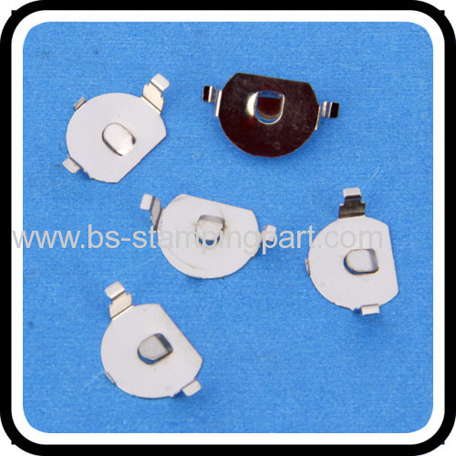 metal plating battery contact plate