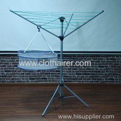 outdoor 3 arms steel clothes airer