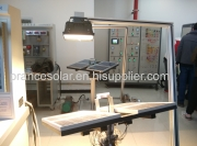 New product function test-solar panel