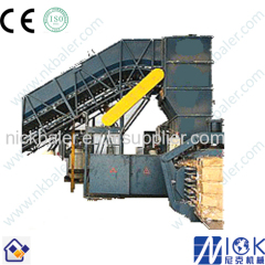 wire Baler with Horizontal Baler