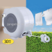 Double Line Plastic Retractable Clothesline Wall Mounted