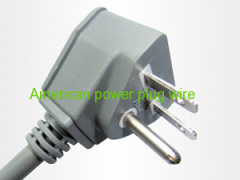 Factory direct American three plug the power cord