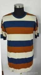 Men's Y/D stripe Tee