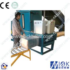 Horizontal sawdust Baler machine