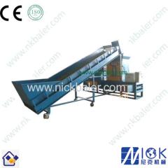sawdust block press machine