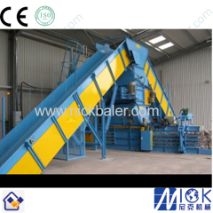 Newspaper Baling Press machine