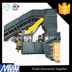 NewsPaper hydraulic baler machine