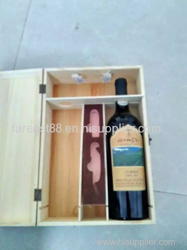 wooden wine box /wooden wine crate