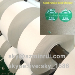 ultra destructive vinyl materials/fragile adhesive paper/fragile security paper