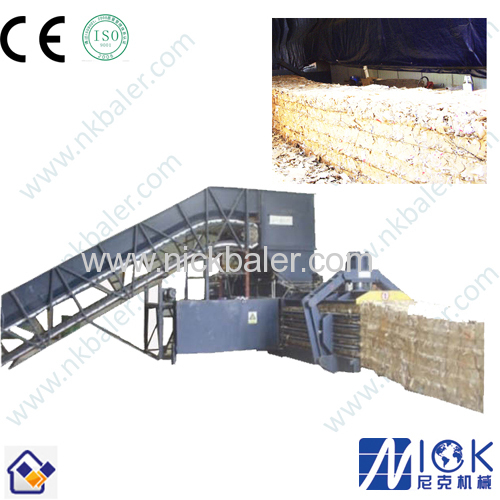 paper baler press machine