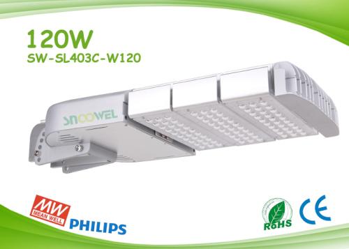 Angle Adjustable 120w Led Street Lights With Philips 3030