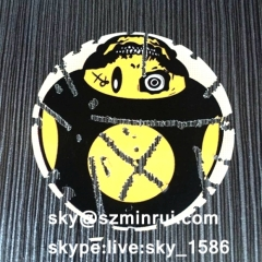 graffiti eggshell sticker/adhesive eggshell sticker/custom vinyl sticker