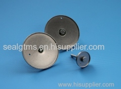 glass to metal sealing battery top covers