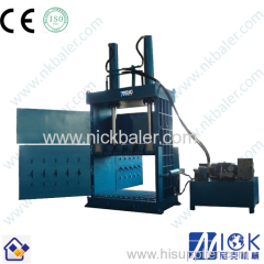 Anti-kickback device Scrap Tire Baling Machine
