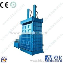Scrap Tire double bucket bailing machine