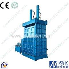European standard factory price Used Textile hydraulic baler