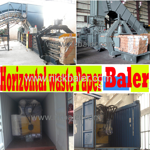 Nick Brand name Cardboard Hydraulic Paper Bailing Machine