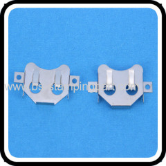 nickel plating CR2032 battery holder