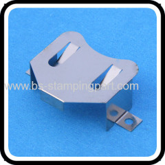 spring steel CR2032 battery holder