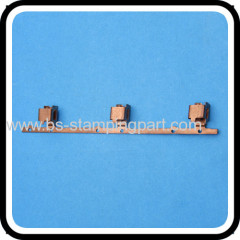 electric phosphor bronze contact terminal