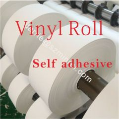 China self adhesive vinyl factory Hotsale tamper evident Ultra destructible adhesive vinyl label materials for printing