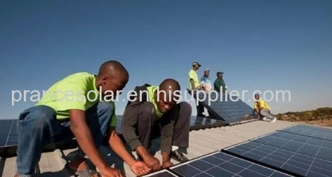 Chinese companies take lead in developing clean power supply in Zimbabwe