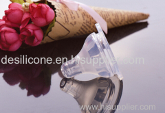 baby bottle silicon nipple/silicon feeding nipple