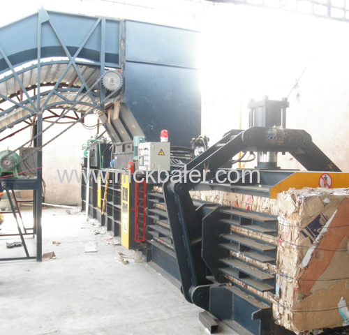 Scrap Kraft paper baler press machine