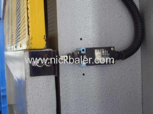 Scrap Paper baler press machine