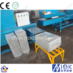 rice hull bagging compactor machine