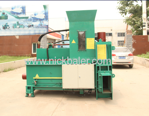 High Capacity Rice Husk Bale Compactor