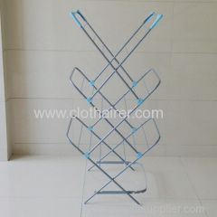 3-Tier Portable Clothes Drying Hanger Rack