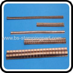 EMI BeCu shielding fingerstrips