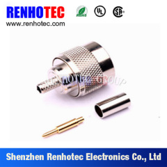 Straight N Type Male RF Connector