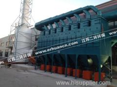 vertical cartridge dust collector for woodworking/ battery