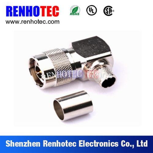Right Angle N Male Plug RF Connector