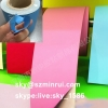 Professional Manufacture Supply Colorful Destructible Label Papers Adhesive Fragile Egg Skin Materials