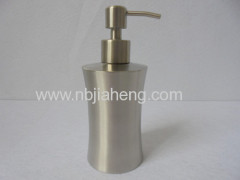 Sink liquid Brass Soap Dispenser with Stainless Steel Bottle