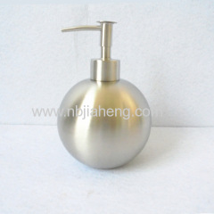 Metal Kitchen 304 Stainless Steel Brushed Liquid Hand Soap Dispenser