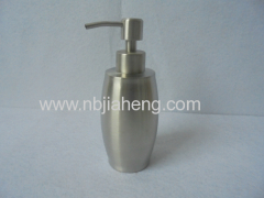 high quality stainless steel bowling-shape soap dispenser