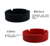 Silicone ashtray with heat-resistant material