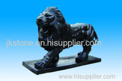Marble Animal Lion Sculpture With High Quality