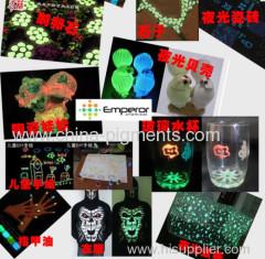 temperature Photoluminescent Powder for ceramic production