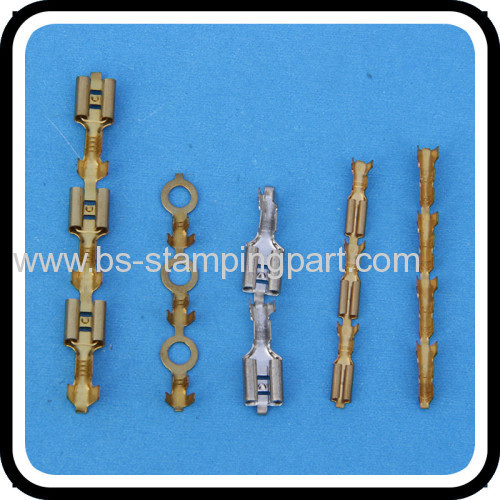 custom made plated stainless steel ring terminal