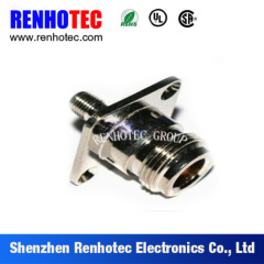N Female to SMA Female Flange Communication Connector Adapter