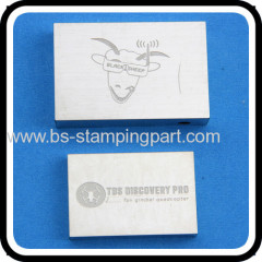 nickel plated etching stamped metal