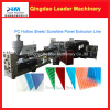 Leader Brand PP PC(Polycarbonate) hollow sheet extrusion machine
